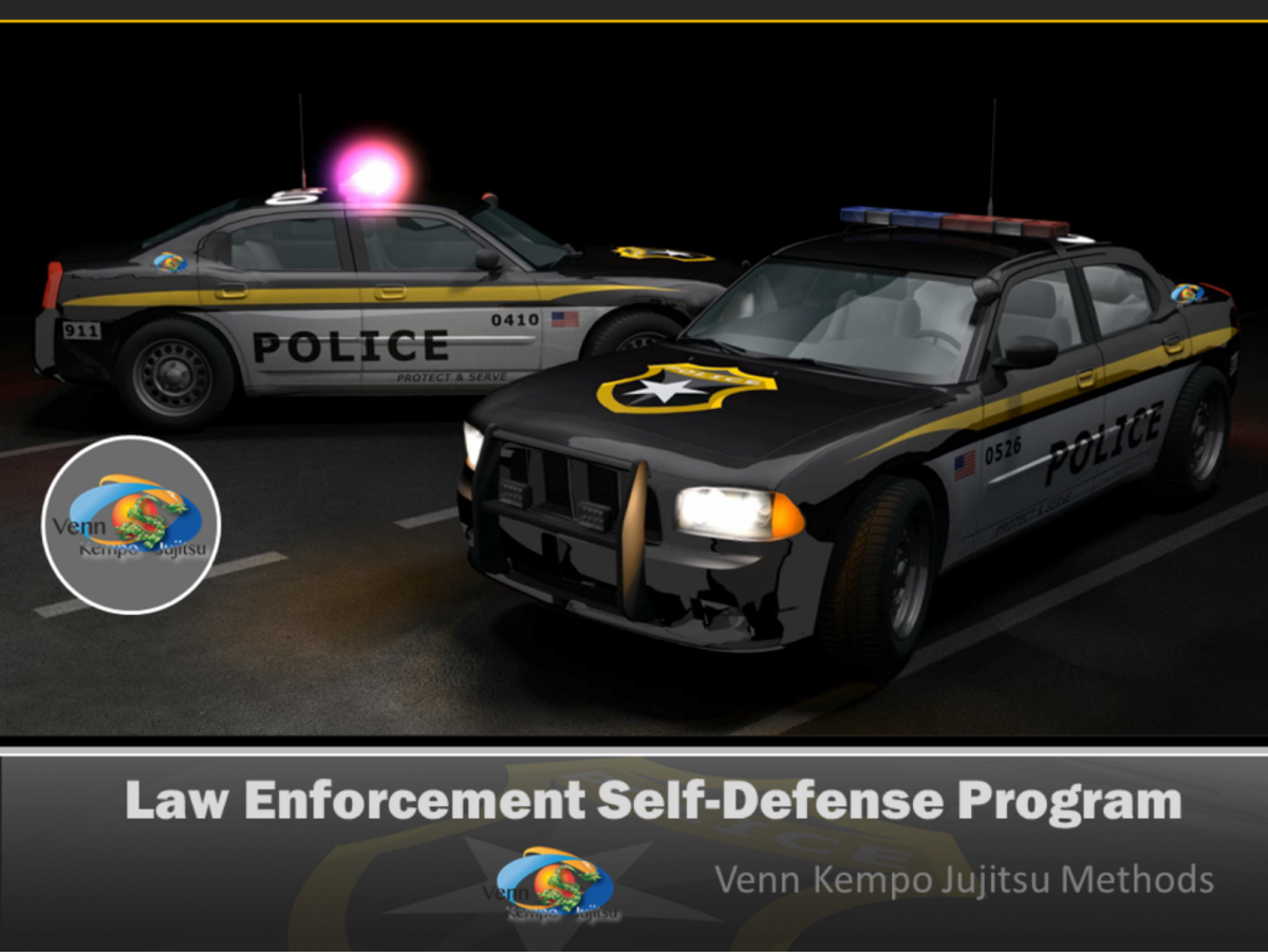 Venn Kempo Jujitsu Law Enforcment Program